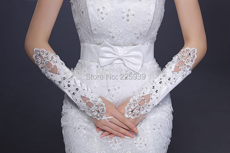 Popular silver wedding gloves buy cheap silver wedding for Wedding dress with long gloves
