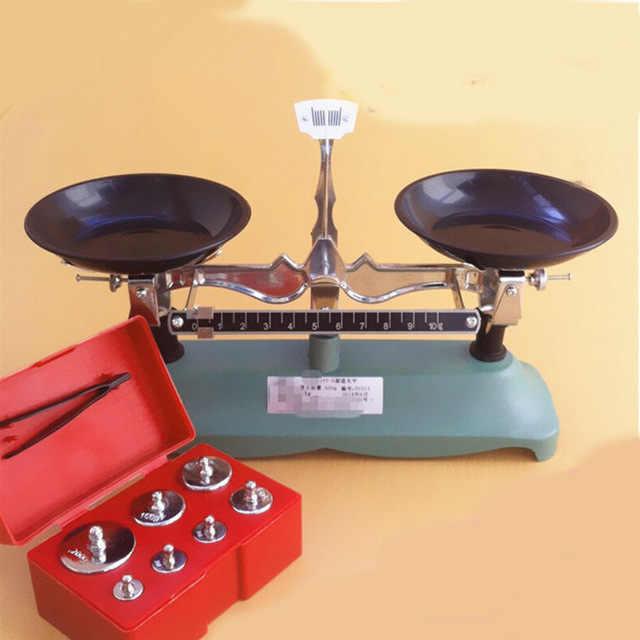 Balances mécaniques d'équilibre de support de palette d'équilibre de laboratoire de 200G avec l'équipement éducatif d'échelle de poids