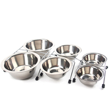 Pet Dog Bowls Stainless Steel