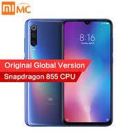Version originale mondiale Xiao mi mi 9 6GB 128GB Snapdragon 855 48MP AI Triple caméra Smartphone sans fil charge NFC empreinte digitale