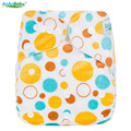 [Ananbaby]Minky Diapers Choose With Insert Or Not Reusable Nappies Onesize Fit All Cover 1PC Waterproof Pocket Wholesale Selling