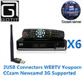 SOLOVOX X6 DVB-S2 HD Satellite TV Receiver CCcam Newcam Mgcam Youporn Youtube USB WIFI 3G Supported Satellite Decoder