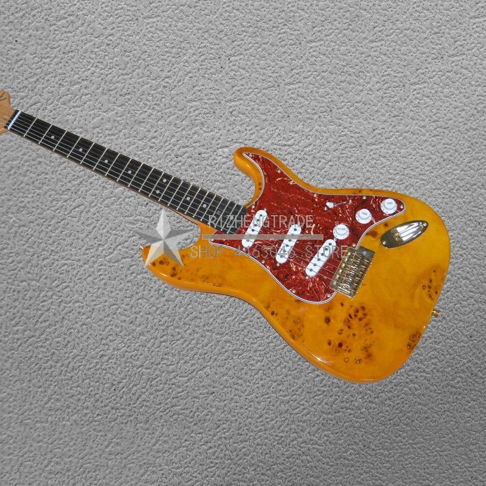 Chibson offre spéciale bouton fermé Basswood sans tête guitare Deadwood classique St vente chaude Guitarra vendre bonne qualité 2018 nouveau