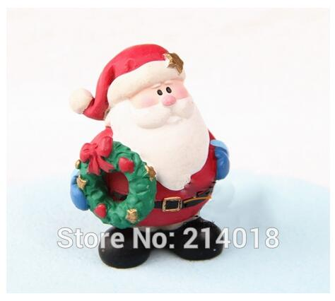 Christmas Santa Claus Silicone Soap Mold Cake Chocolate Fondant Mould Craft DIY