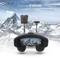 In Stock Eachine EV800D 5 8G 40CH Diversity FPV Goggles 5 Inch 800 480 Video Headset