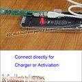 На складе! Для Xiaomi M3 M4 Новый Зарядки батареи и Активировать батареи пластины совета линии для iPhone6 6 Плюс мини 5S 5С 5 Г 5 4S 4 Г 4 мими