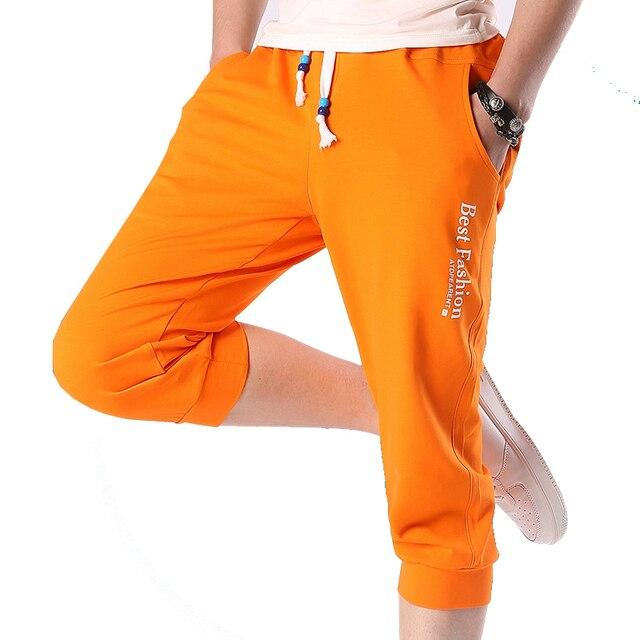 2017 Горячие Летняя распродажа модные Повседневное свободные Для мужчин S укороченные Короткие штаны Треники Jogger Шорты для женщин Для мужчин ayg221