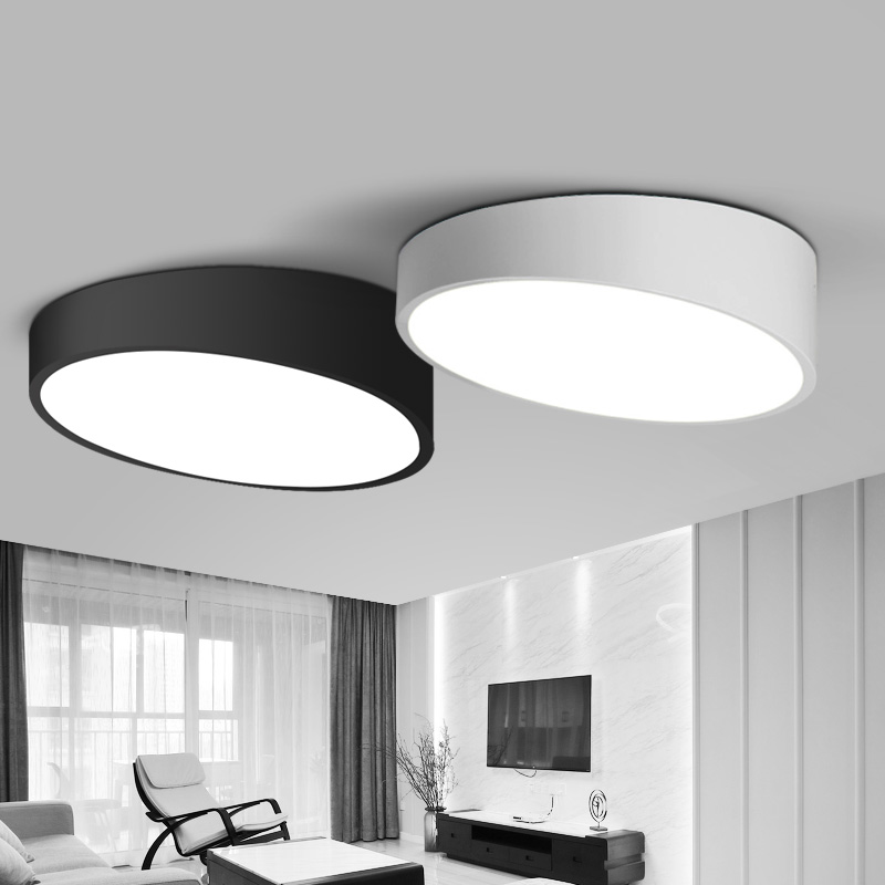 Creative cylinder ceiling light lamparas de techo for Lampara tela techo