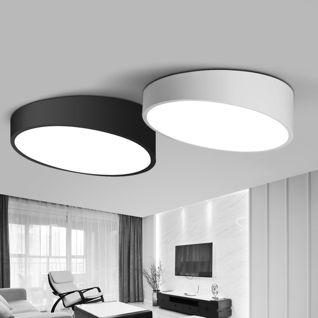 Creative cylinder ceiling light lamparas de techo plafoniere lampara techo salon bedroom light - Lamparas de sobremesa para salon ...
