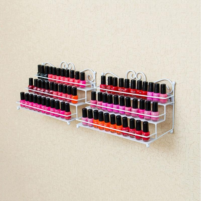 Esmalte de uñas Rack de escritorio Soporte de almacenamiento de 3 - Arte de uñas - foto 1