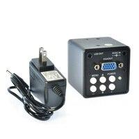 2.0MP HD c-mount Microscopio Digital Cámara Lupa PC VGA de Salida para PCB Laboratorio Industria de Inspección Industrial