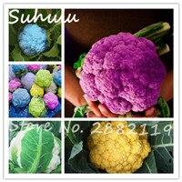 Смешивать цвета 80 частиц цветная капуста семена редкие сладкий вкусный органические растительные семена diy главная сад посадки БЕЗ ГМО