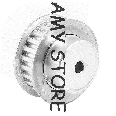 5mm passo 6mm diâmetro 10mm largura 25 dente xl tipo polia de distribuição de alumínio