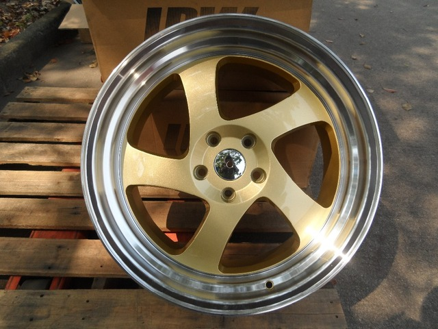 40 4040 GOLD TMB STYLE RIMS WHEELS FITS 3400Z 40Z G340 G40 SEDAN Interesting 350z Lug Pattern