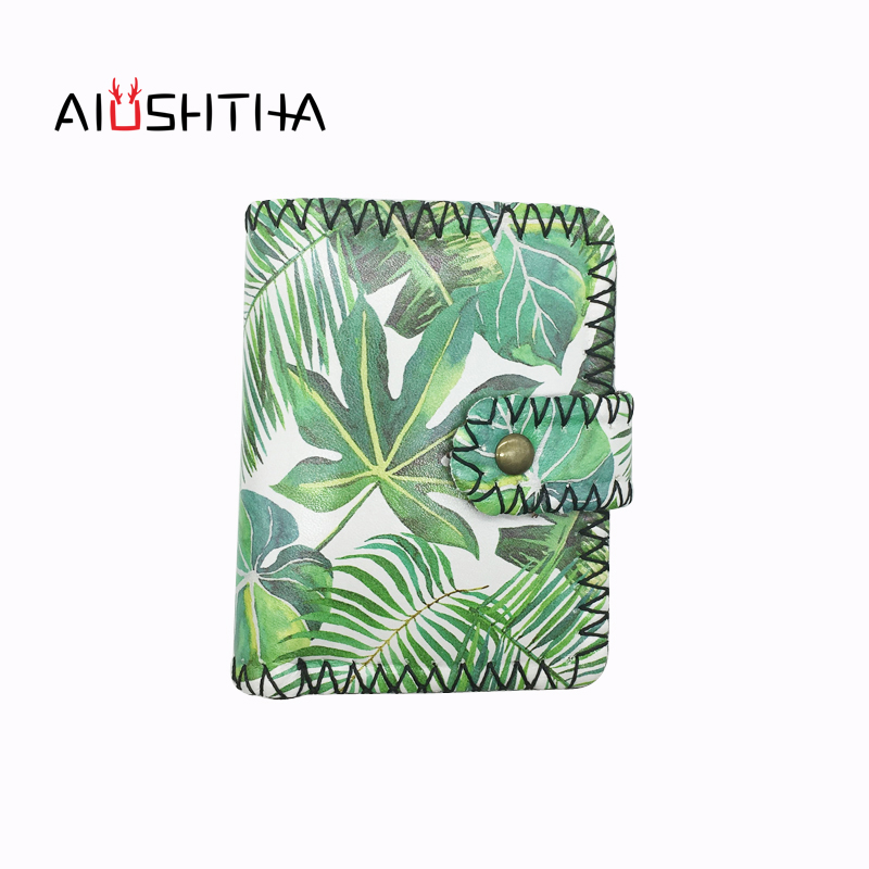 универсальная коляска caretto angel leaves collection 09 green Turtle bamboo green leaves women wallets purses leather small mini money bags of famous designer brands card coin purse Japanese
