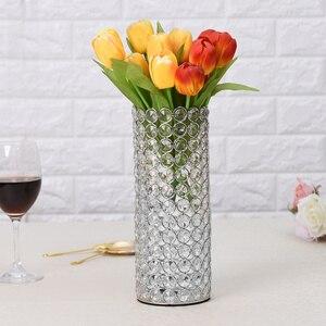 Image 5 - คริสตัลแก้วแจกันเทียนสำหรับงานแต่งงาน Centerpieces ตกแต่ง Handmade