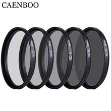 CAENBOO 37 40.5 43 46 49 52 55 58 62 67 72 77 82 mét Lens NĐ Lọc ND2 4 8 16 32 Len Protector Neutral Density Lens Lọc máy ảnh