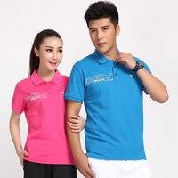 Badmintonshirt חדשה סיטונאי חולצה בגדי בגדי שולחן צוות משחק