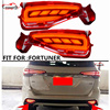Citycarauto Car Styling Rear Tail Lamp REAR Braket Lights Warning Lights For Fortuner LED Rear Lamp