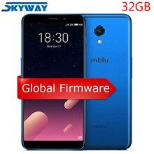 Orijinal Meizu M6s 4G LTE cep telefonu 3 GB 32 GB Küresel Firmware Exynos 7872 Hexa Çekirdek 5.7