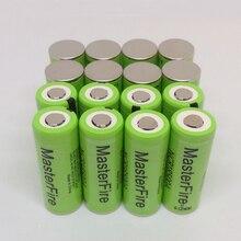 MasterFire 18PCS/LOT New Version 100% Original Battery For Panasonic 3.7V 18500 NCR18500A 2040mAh Rechargeable Lithium Batteries цена и фото