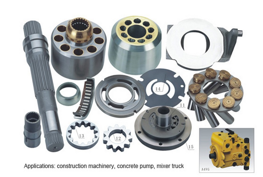 Rexroth hydraulic piston pump repair kit A4VG40 spare parts цены