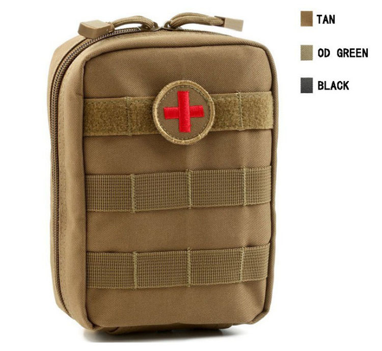 Empty Bag for Emergency Kits Tactical Medical First Aid Kit Military Waist Pack Outdoor Camping Travel Tactical Molle Pouch Mini (11)