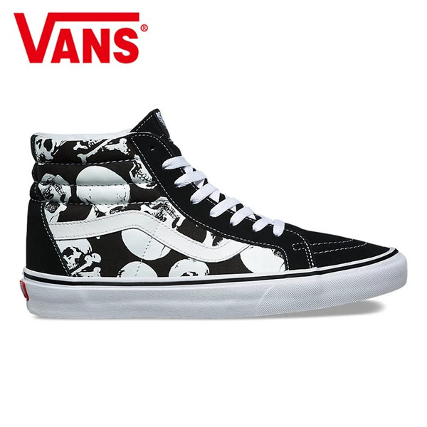 Vans Sk8-Hi Classic Men and Womens canvas shoes Surfing joint fashion high  help Bump color Weight lifting shoes Eur 36-44 b38f65258bab