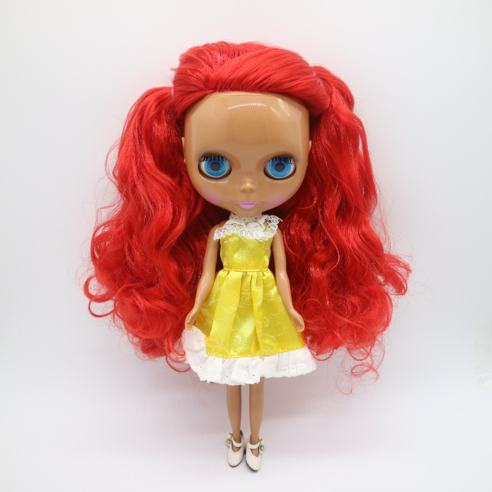Nude Factory Blyth Doll No.BL2436 Amaranth Red hair white