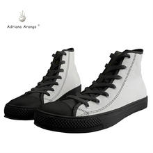 лучшая цена Adriana 2019 Design Custom Shoes for Men and Women Vulcanize Shoes Picture Painted High Top Laced Cosplay Shoes Espadrilles Flat