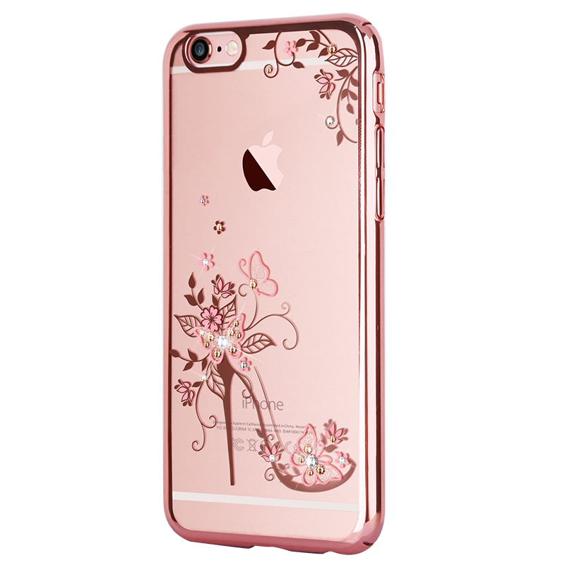 342626210 KAVARO for iPhone 7 8 Plus Case Crystals from Swarovski Diamond Glitter Floral  Case for iPhone 8 Plus Cover PC Hard Capa Coque-in Rhinestone Cases from ...