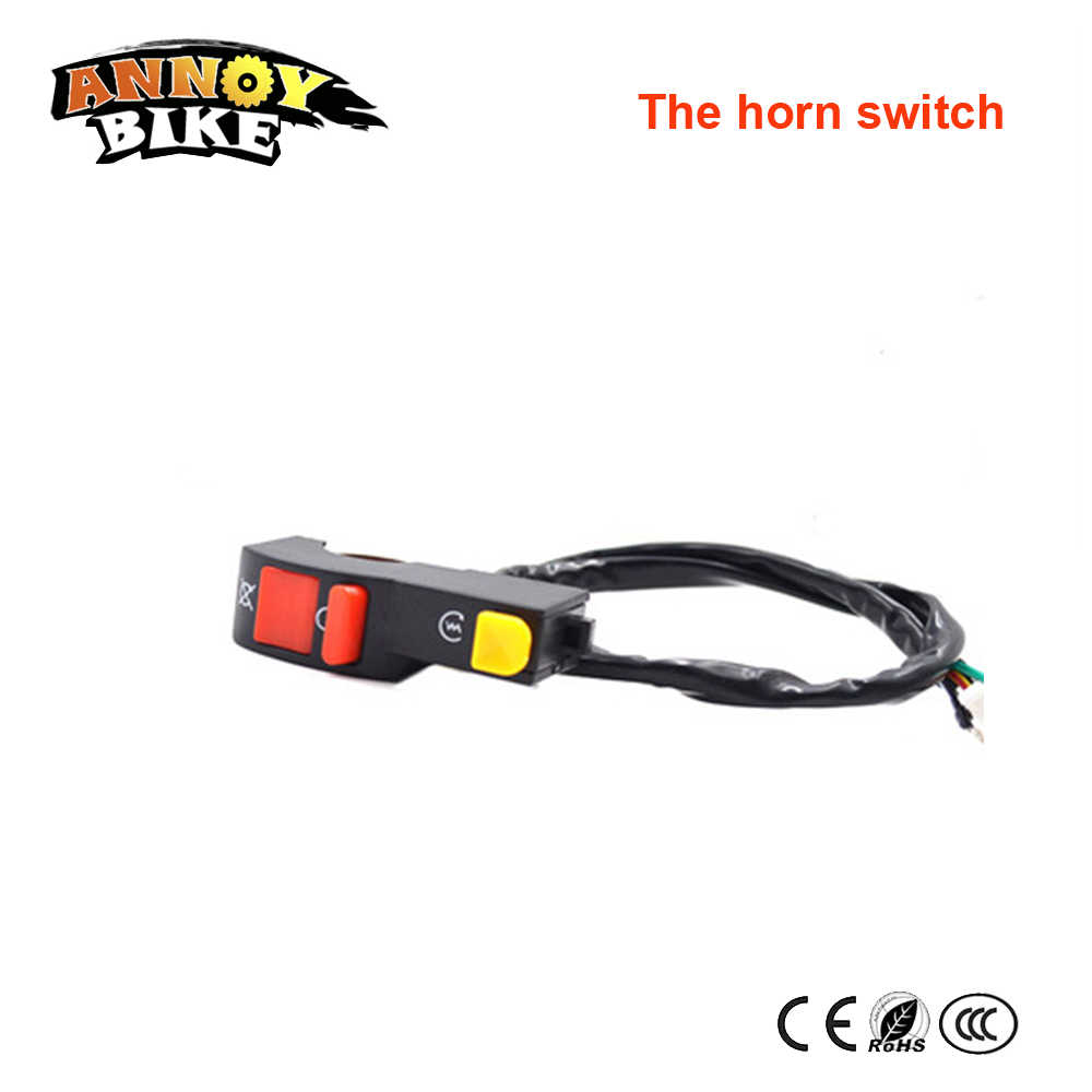 Electricy Car Light And Horn Switch Of Many Types Universal Motorcycle Modified Double Flash Horn Switch Ebike Headlamp Switch