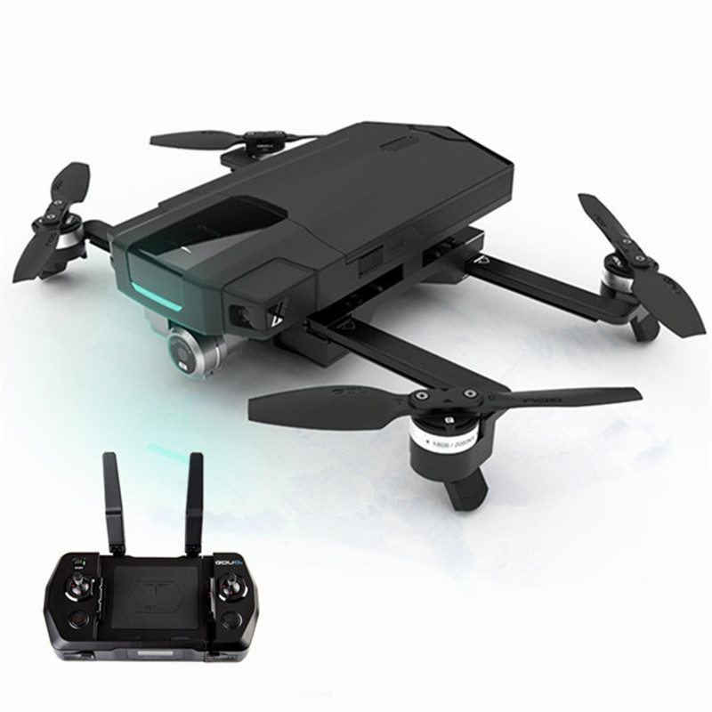 GDU O2 Wifi FPV With 3-Axis Stabilized Gimbal 4K Camera Obstacle Avoidance RC Drone Quadcopter VS Eachine E58 yuneec typhoon q500 5 8g fpv with 4k hd camera cgo3 3 axis gimbal rc quadcopter rtf