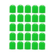 25 шт. крышки стержня вентиля шины черный красный зеленый Мода пластик авто велосипед мотоцикл грузовик колеса крышки стержня вентиля шины аксессуары