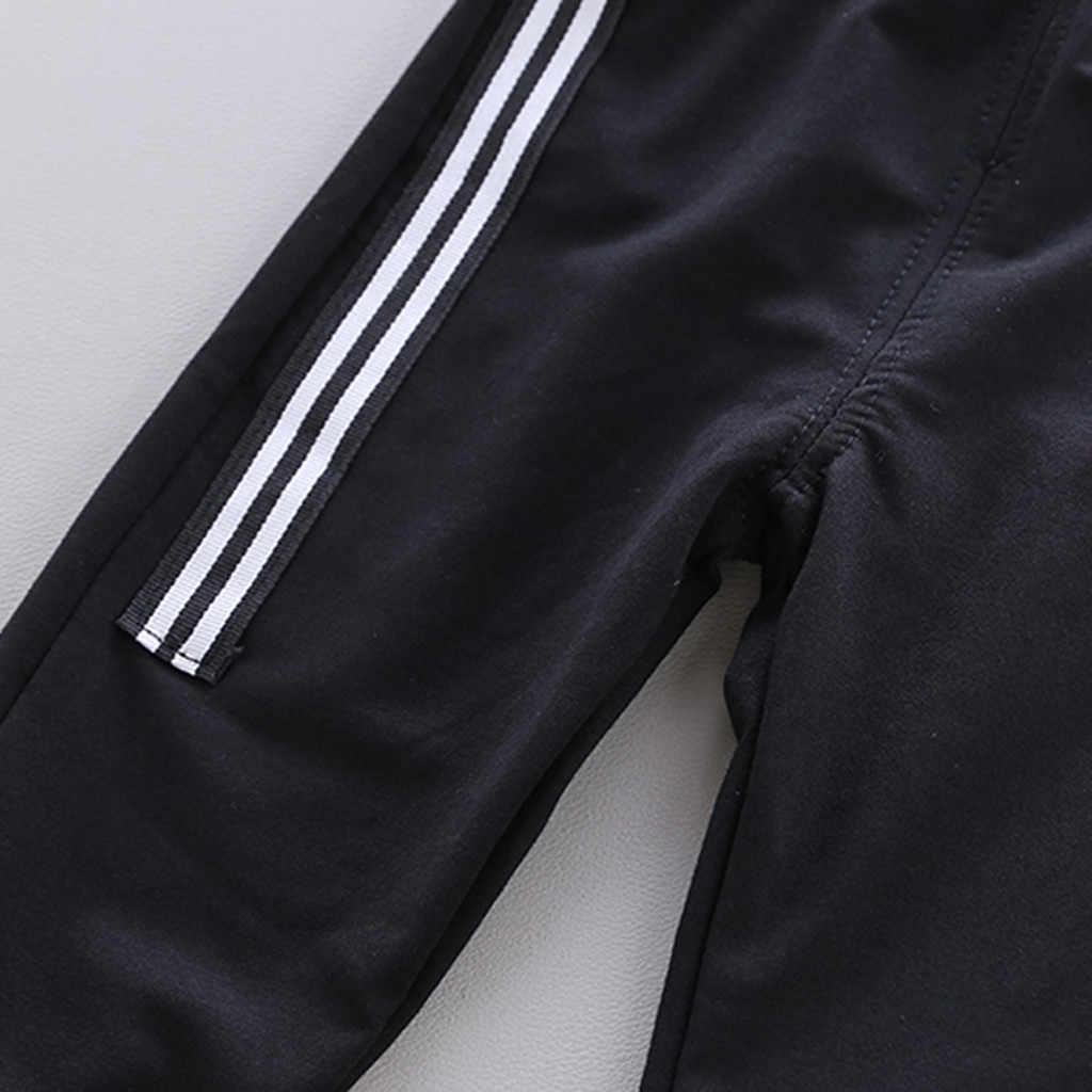 одежда для маленьких мальчиков и девочек 2019 детские куртки с капюшоном Брюки на весну-осень 2 шт./компл. наряд Детская повседневная одежда детские спортивный костюмы малышей спортивные костюмы