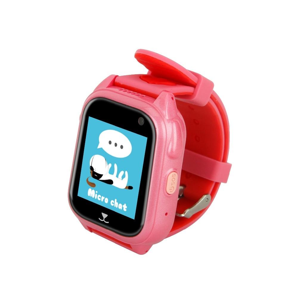 Pewant montre bébé intelligente avec caméra GPS SOS appel localisation dispositif Tracker sûr Anti-perte moniteur montre intelligente pour enfants enfants - 5