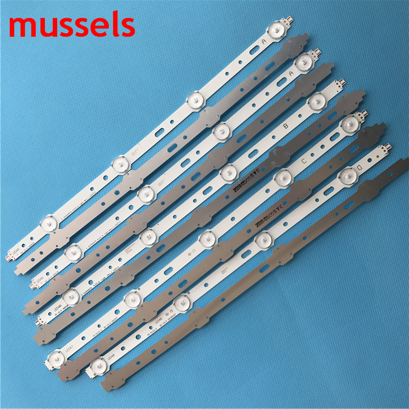 """Image 5 - LED backlight strip For Samsung 40"""" TV 4/5lamp SVS400A73 40D1333B 40L1333B 40PFL3208T LTA400HM23 SVS400A79 40PFL3108T/60 New-in Industrial Computer & Accessories from Computer & Office"""