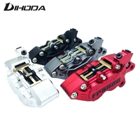 Motorcycle Universal Modification Four Piston Frando F101 Caliper BWS RSZ CNC Rear Brake 9mm Hole Motorcycle