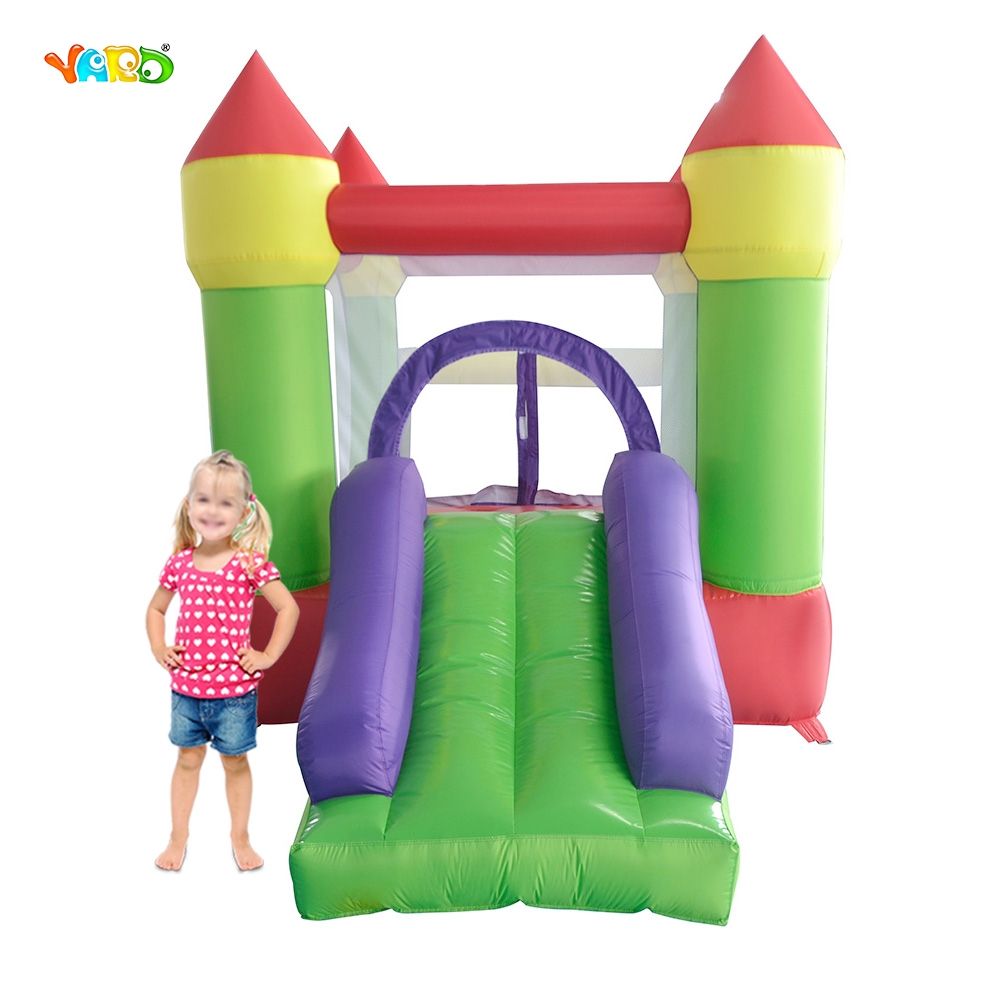 Hot Sale Kids Funny Party Inflatable Bounce House Juegos Inflables Cama Elastic Pula Pula Inflatable Slide For Middle East