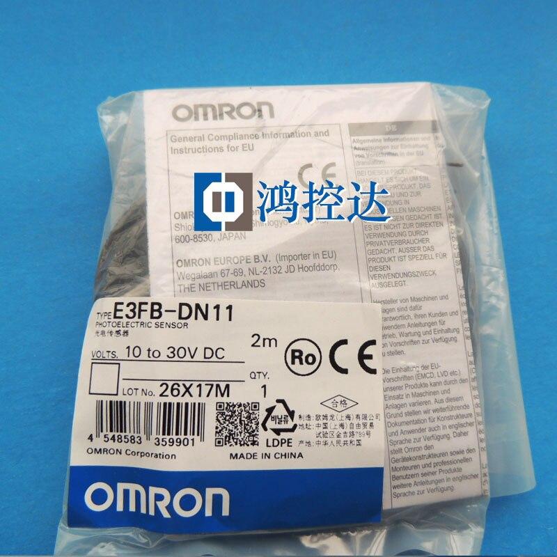 Nouveau commutateur photoélectrique OMRON original E3FB-DN11