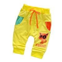 2017 New Fashion Kids Boys Girls Pants Print Cotton Trousers Children Sport Pants Casual Kids Clothes