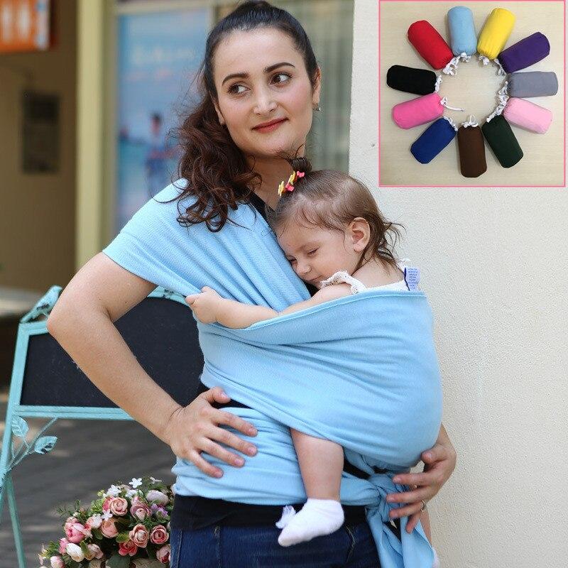 2018 porte-bébé écharpe pour bébé doux nouveau-né écharpe pour bébé respirant Wrap Hipseat allaitement naissance confortable couverture d'allaitement