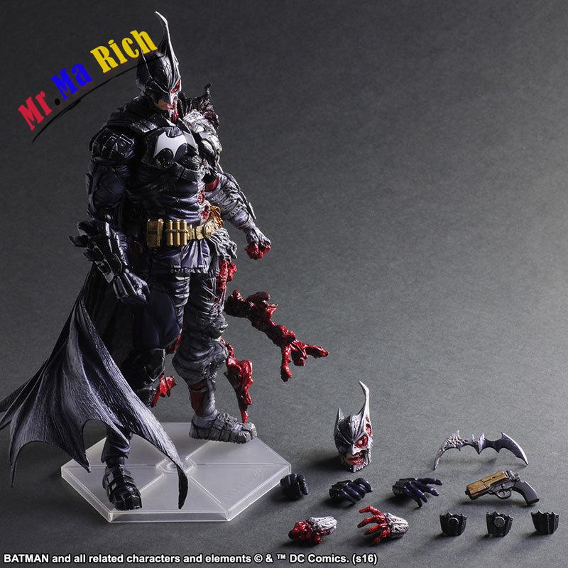 Play Arts Kai Dc Comics Batman Rogues Gallery Two-face Pvc Action Figure Collection Kids Toys Figuras Anime Juguetes 29cm gogues gallery two face batman figure batman play arts kai play art kai pvc action figure bat man bruce wayne 26cm doll toy