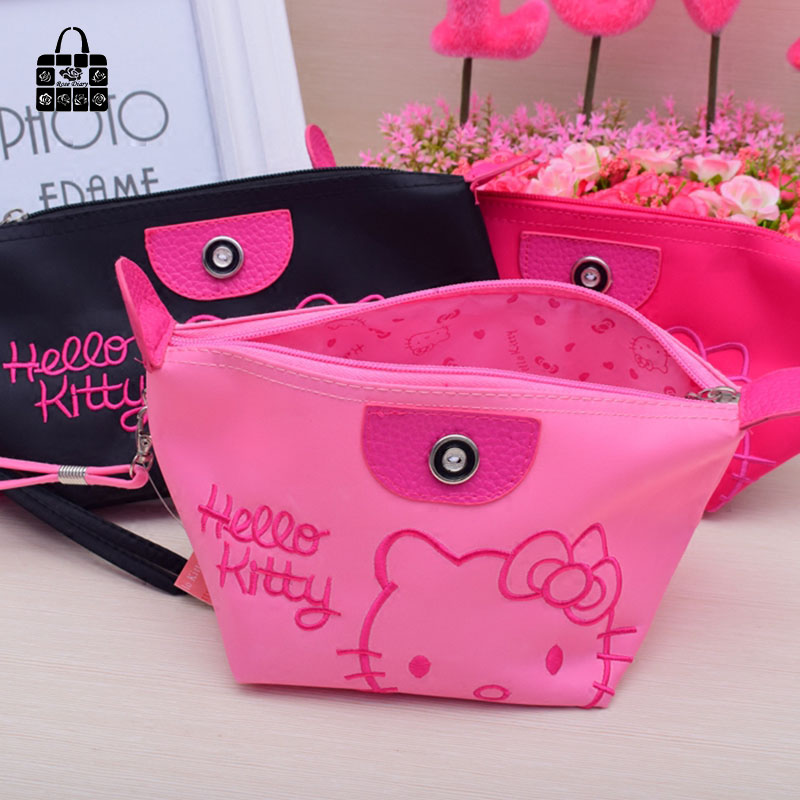 1pcs Women Portable Cute hello kitty Multifunction Beauty ZipperTravel Cosmetic  Bag Makeup Case Toiletry Pouch Cosmetic Cases-in Cosmetic Bags   Cases from  ... 036b473566