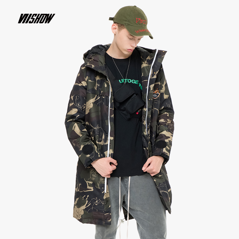 VIISHOW Duck Men's   Down   Jacket Brand Winter Jacket For Men Doudoune Homme 2018 New Hooded Men's Winter Jacket   Coat   YCA312184