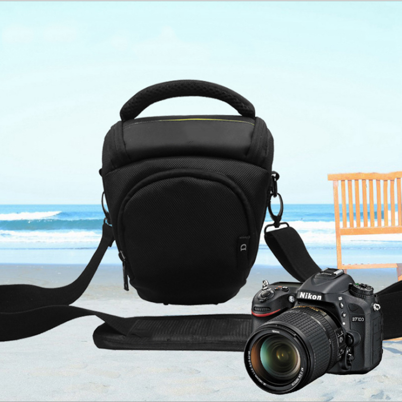 Waterproof Digital Camera Case Shoulder Bag For Nikon SLR DSLR Camera D3000 D3100 D60 D40 D5000 D5100 image