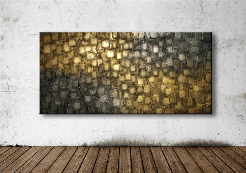 handmade oil painting on canvas modern 100% Best Art Abstract original directly from artis