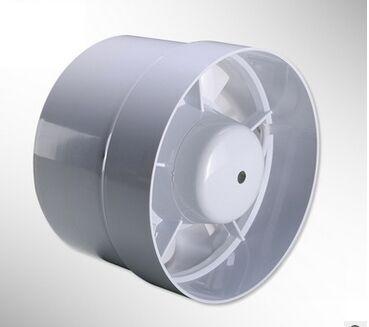 """4"""" inline duct fan mini plastic booster exhaust fan air ..."""