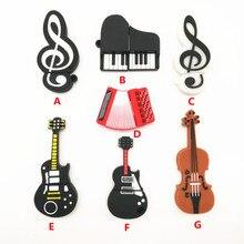 7 styles Musical Instruments Model usb flash drive 4GB 8GB 16GB 32GB cartoon memory stick U disk pendrive cartoon cle usb 2.0