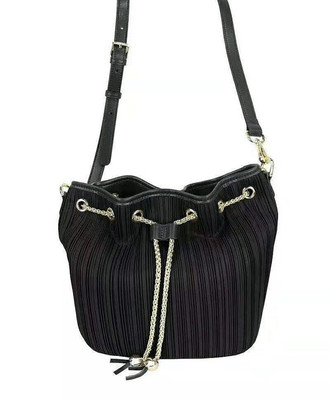 Miyake Pleated Female Crossbody Bag Fashion Simple Wild Natural Gas Large Capacity Portable Bucket Bag HOT SELLING